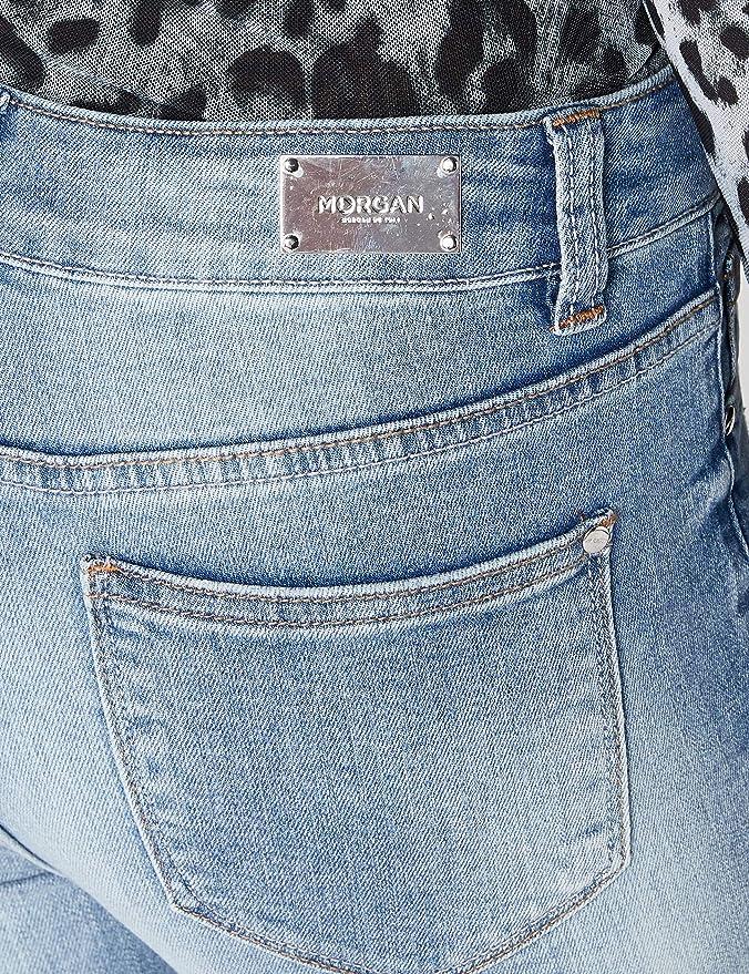 Morgan Vaqueros Skinny para Mujer: Amazon.es: Ropa y accesorios