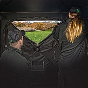 3 Person Pop up Hunting Blind