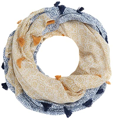 Womens Mia Half Snood Scarf, Off-White (Ivory Nat), One Size Fat Face