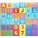 36Pcs Puzzle Tapis Jeu Mousse bébé alphabet et chiffres 30x30cm/PC