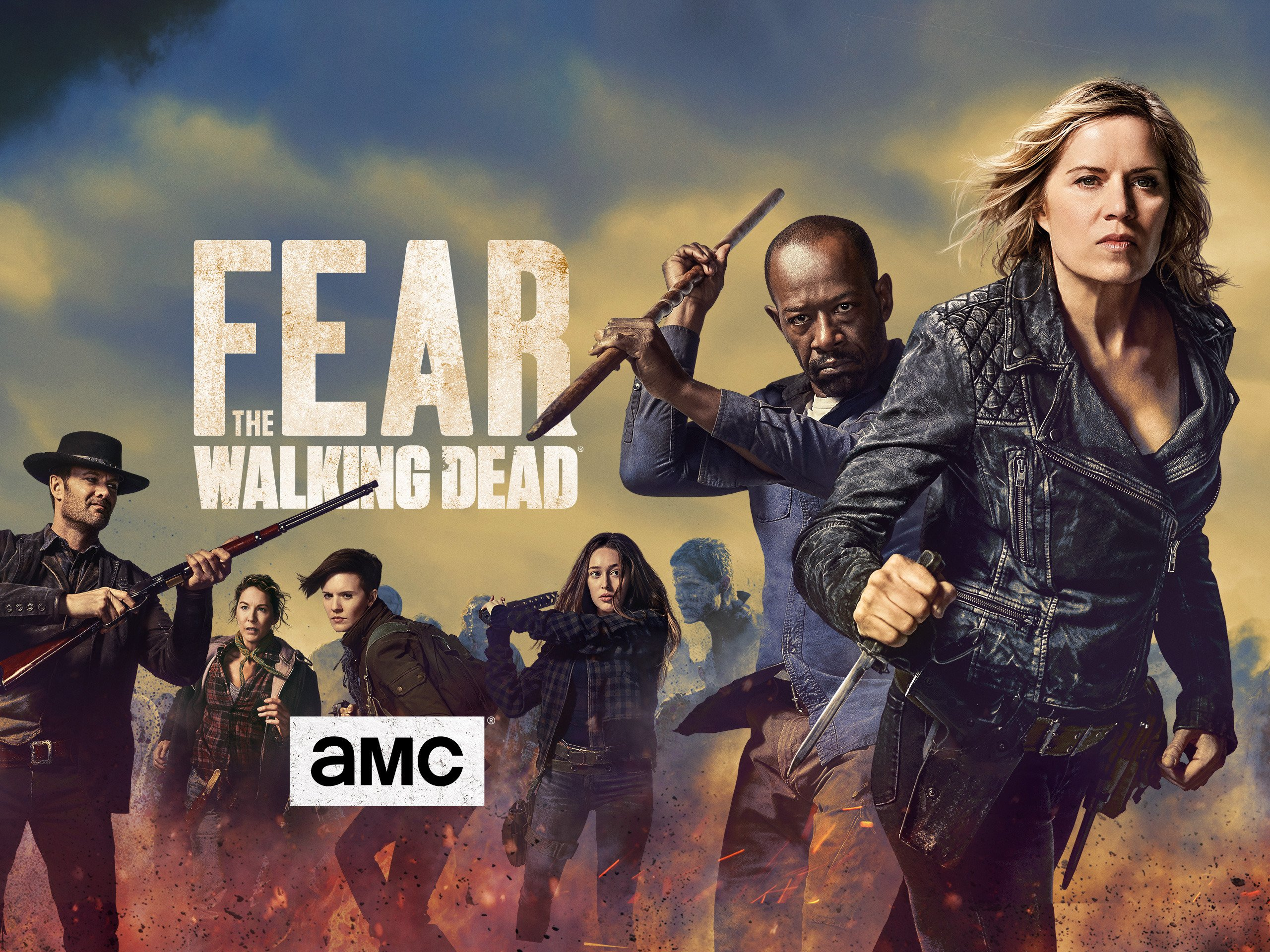 Amazon.com: Fear the Walking Dead - Season 4