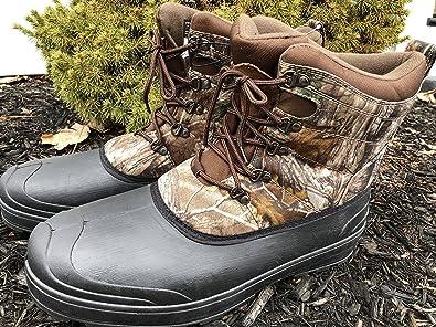6ded3ec9d35 Amazon.com: Ozark Trail Men's Brown Camo Winter Boot: Shoes