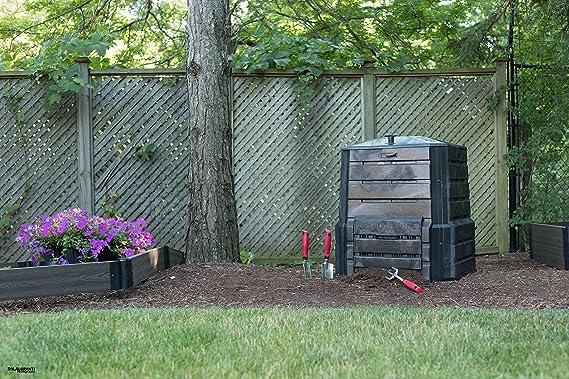 Algreen Products Classic de Ahorro de Suelo Compost Bin: Amazon.es ...