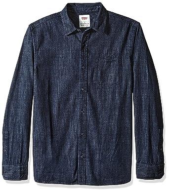 39ac271e98 Levi s Men s Greg Classic Denim Button Down Shirt at Amazon Men s Clothing  store