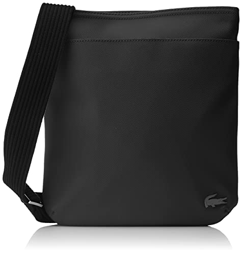 2f69d9a3 Lacoste Mens NH2342HC Top-Handle Bag Black Size: One Size: Amazon.co ...