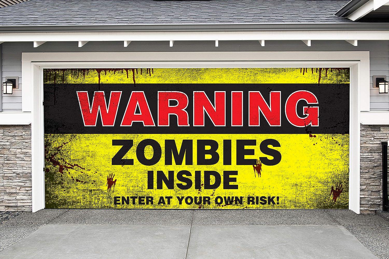 Ice Cream Girl Logo Workshop Banner Zombie // Garage Banner // Poster