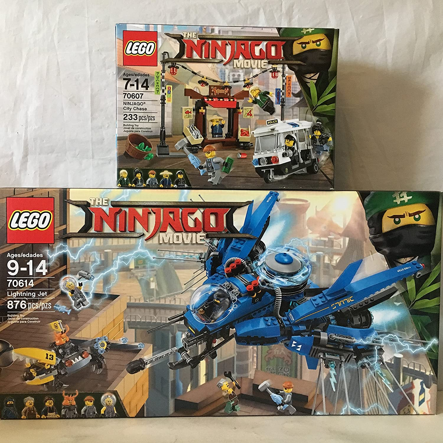 LEGO The Ninjago Movie Jelly with Disc Launcher from Set # 70614 Lightning Jet