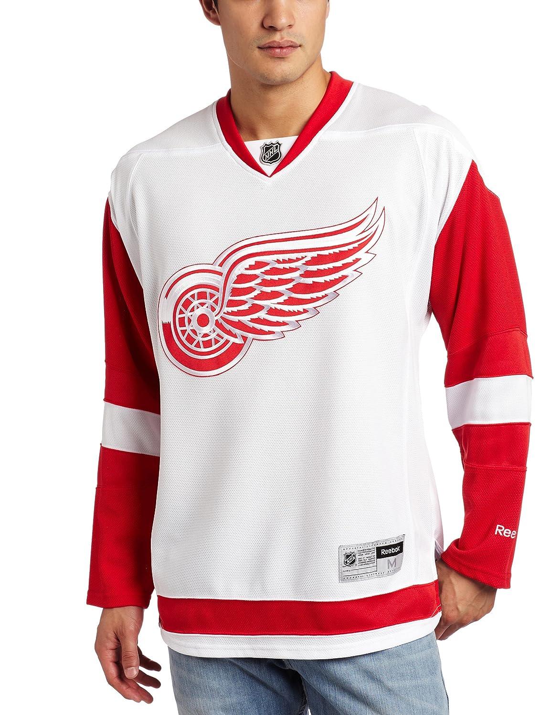 a3b00f325ec Amazon.com   NHL Detroit Red Wings Premier Jersey   Sports Fan Jerseys    Clothing