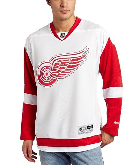 save off a3215 de7af Reebok Detroit Red Wings Premier Jersey (White)
