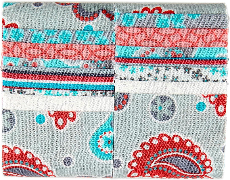 Fabric Editions Grayson Strips 14 Pcs Multi