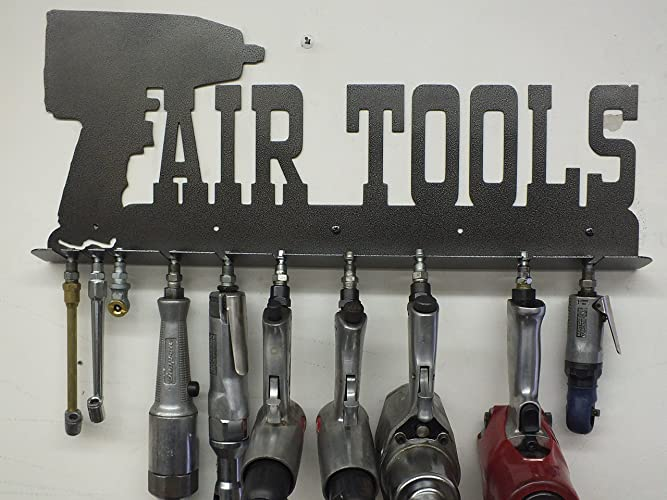 Mechanicu0027s Air Tool Rack   Toolbox   Shop Sign   Tool Storage   Metal Wall  Art