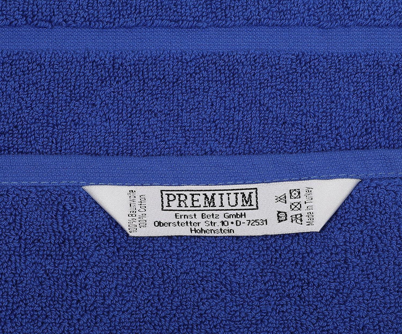 Betz 2er Set Badvorleger Badematte Badteppich Duschvorleger Frottee Gr/ö/ße 50x70 cm 100/% Baumwolle Premium Qualit/ät 650g//m/² Farbe anthrazit