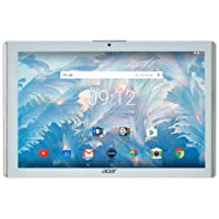 "Acer Iconia One 10 B3 A40 Tablet da 10,1"" 1280 x 800, Quad core 1,30 GHz, 2 GB RAM, 32 GB Memoria Flash, Wi-Fi,  Android 6.0, Bianco"