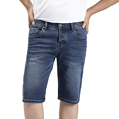 CANAVARO Men's Casual Summer Blue Jeans Shorts at Amazon Men's Clothing store