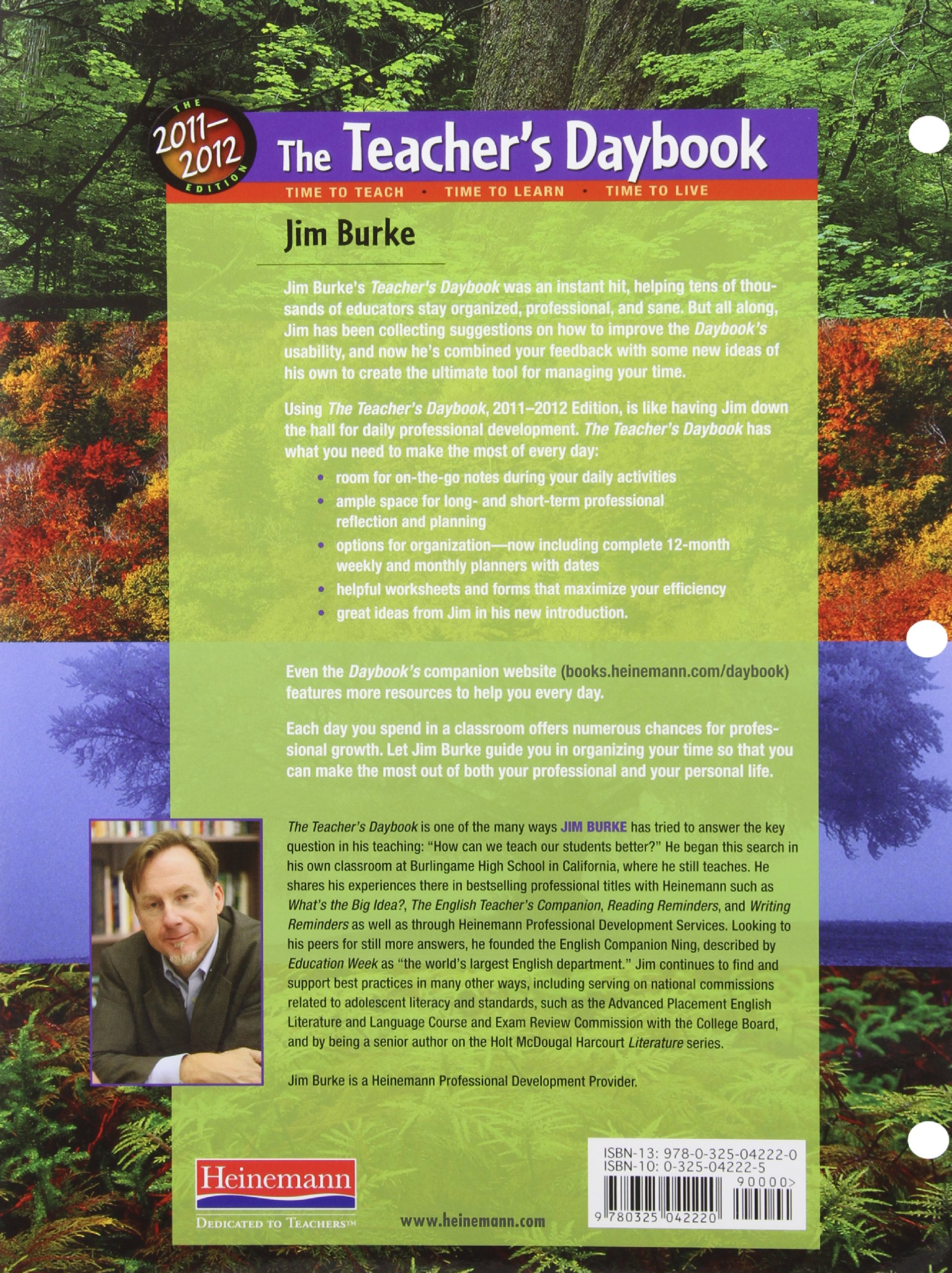 The Teacher s Daybook 2011 2012 Edition Time to Teach Time to