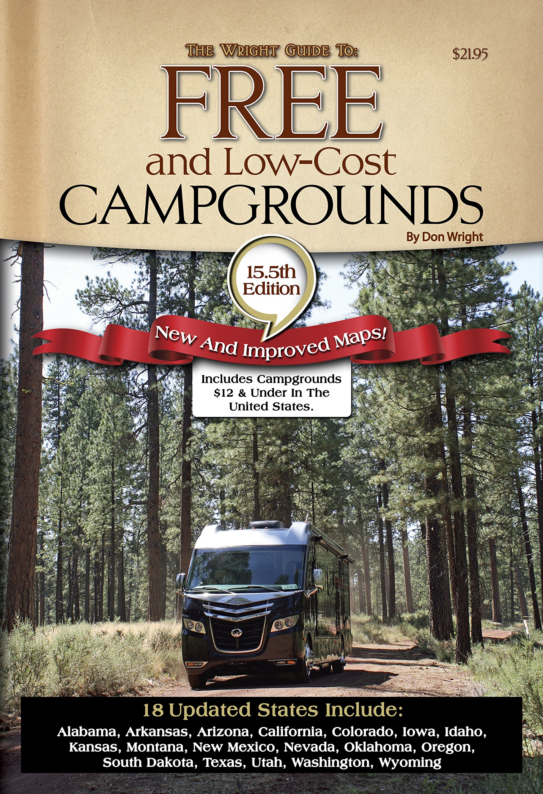 Camping America's Guide to Free and Low-Cost Campgrounds: Includes on national parks united states, koa delta map, koa camps in oklahoma, koa oklahoma map, interstate highways united states, koa map of united states,