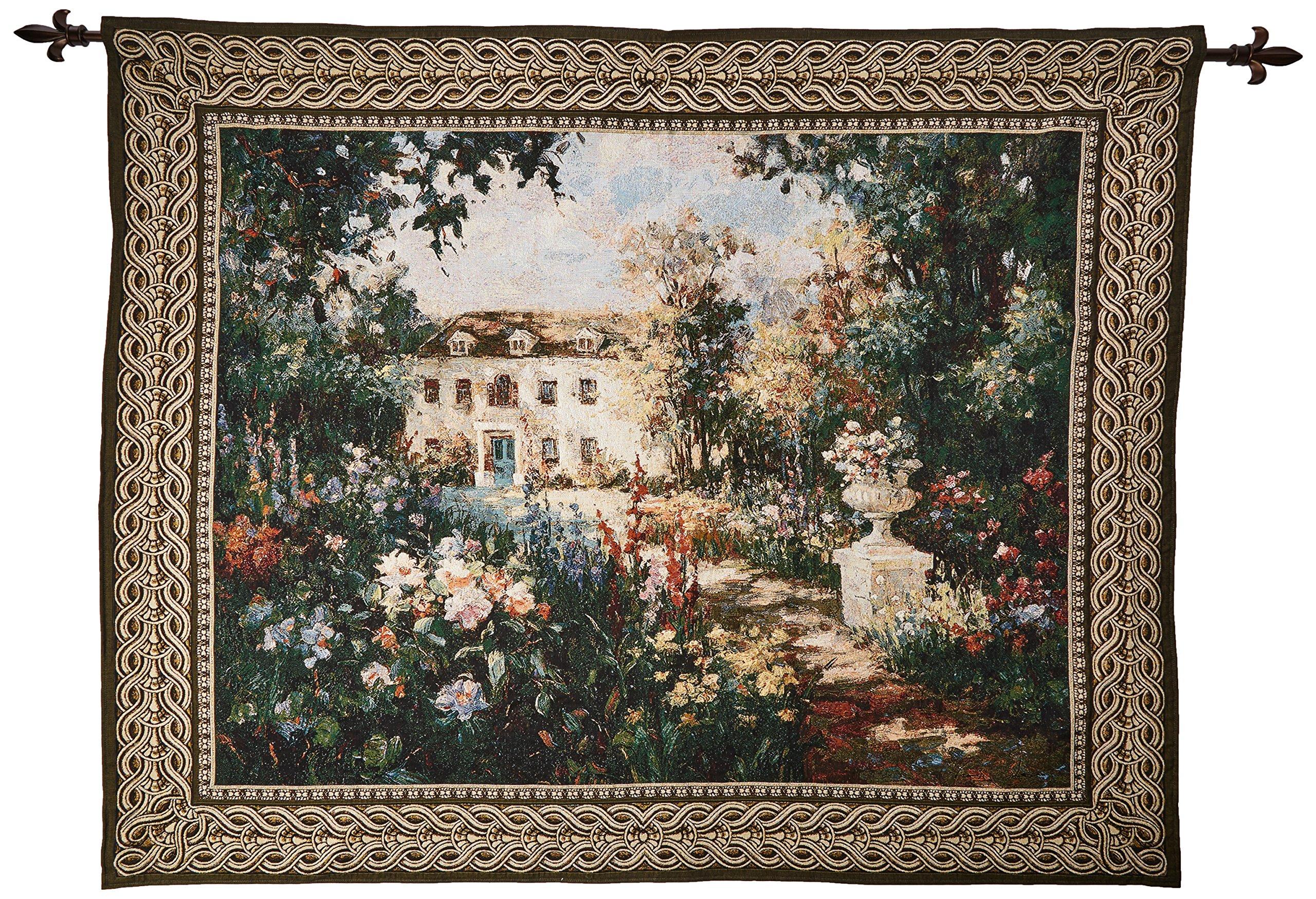 Design Toscano Aix En Provence Landscape Wall Tapestry: Large