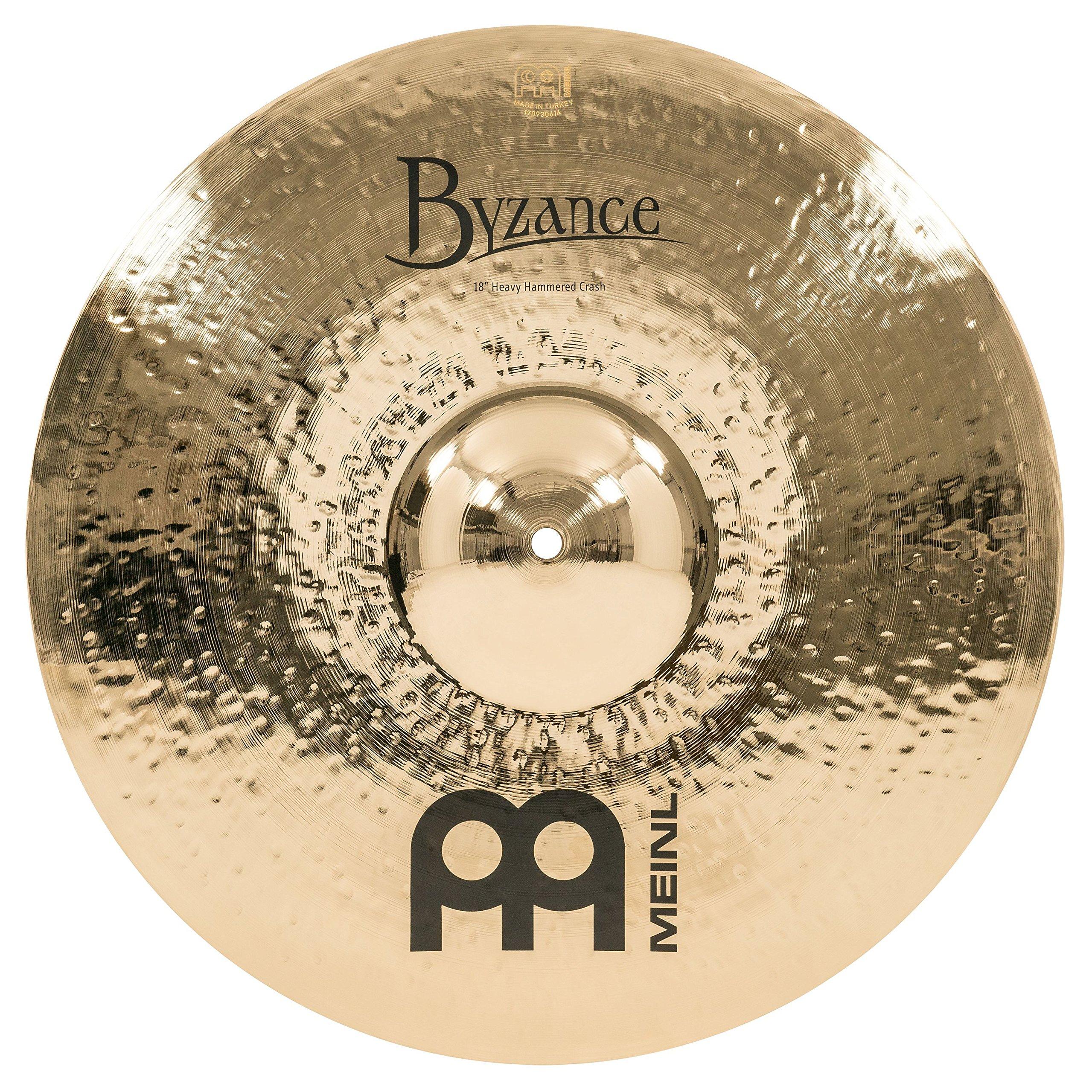 Meinl Cymbals Crash Ride Cymbal (B18HHC-B) by Meinl Cymbals