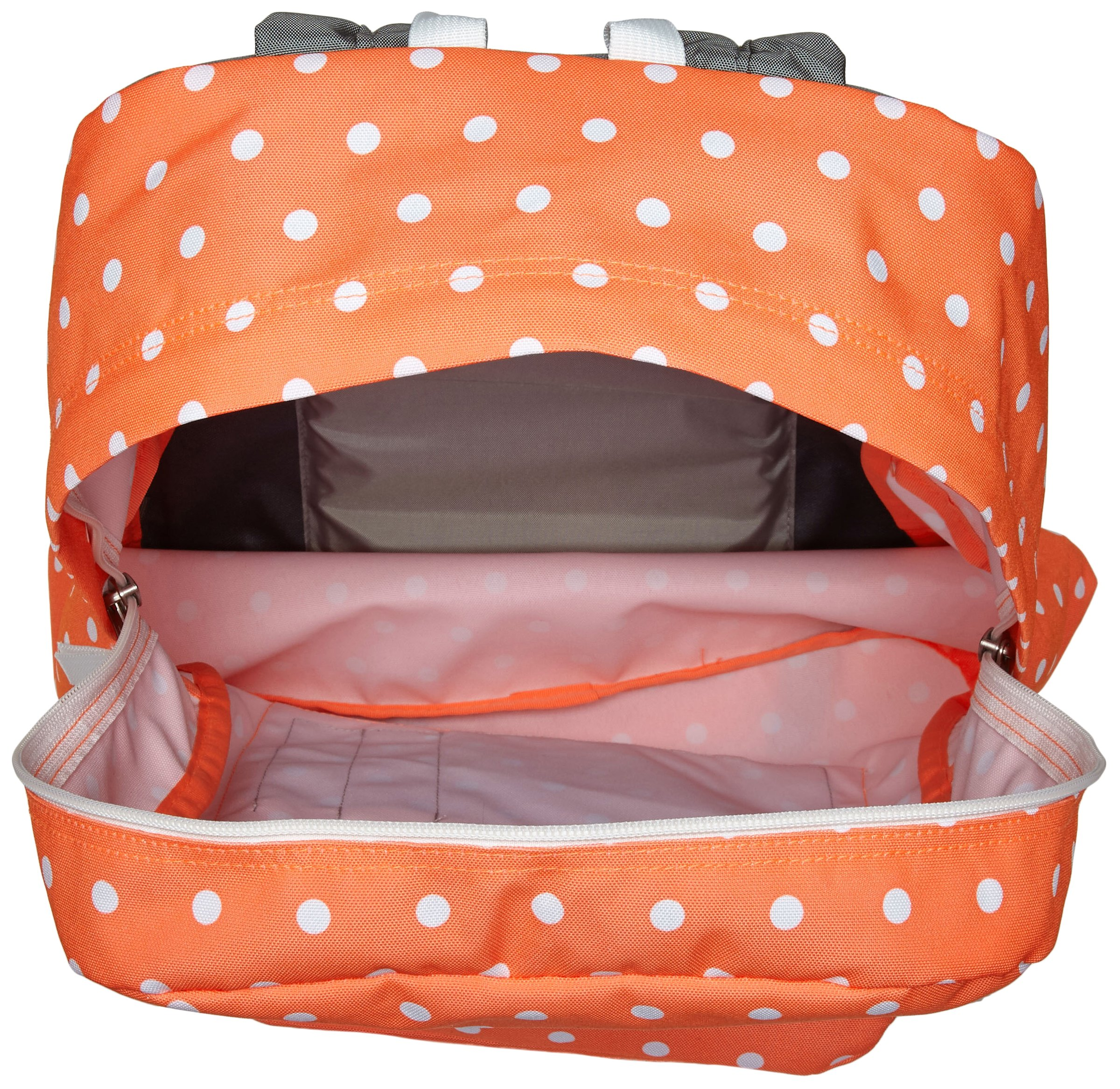 JanSport Superbreak, Tahitian Orange/White Dots, One Size by JanSport (Image #3)