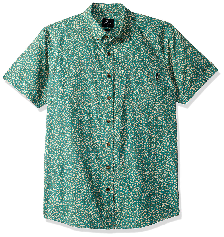 Rip Curl Mens Dark Paradise Short Sleeve Shirt