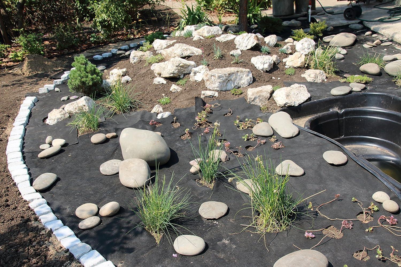 350m Aquagart Unkrautvlies Gartenvlies Mulchvlies Bodengewebe 190g 1m Breit PES Verschiedene Mengen