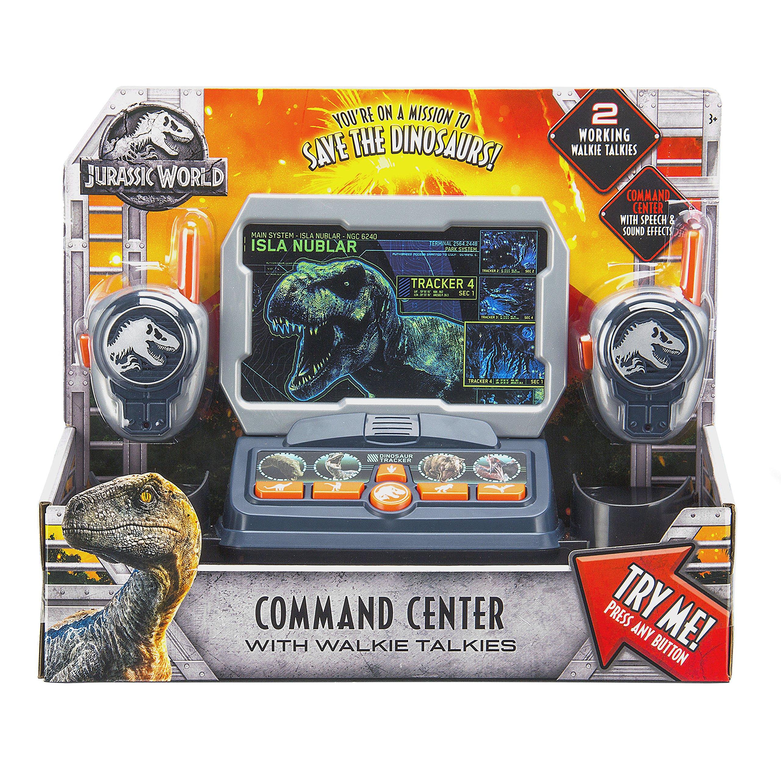 eKids Jurassic World 2 Command Center with Kid Friendly Walkie Talkies and Speech & Sound Effects by eKids (Image #5)