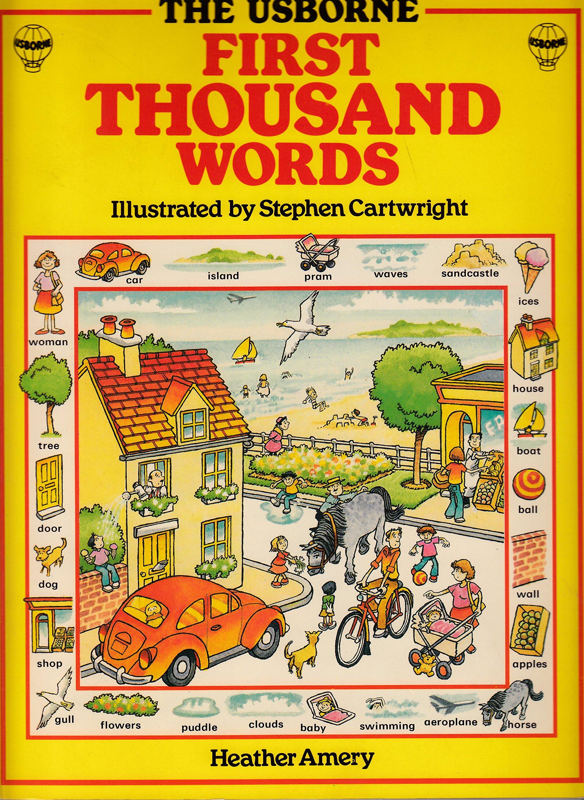 English (Usborne First 1000 Words)