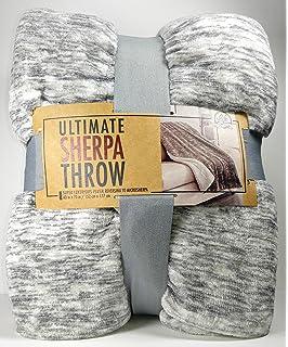 life comfort blanket Amazon.com: Light Brown Life Comfort Sherpa Throw 60 by 70 inches  life comfort blanket