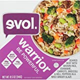 EVOL Warrior Bowl, Seared Beef and Brown Rice
