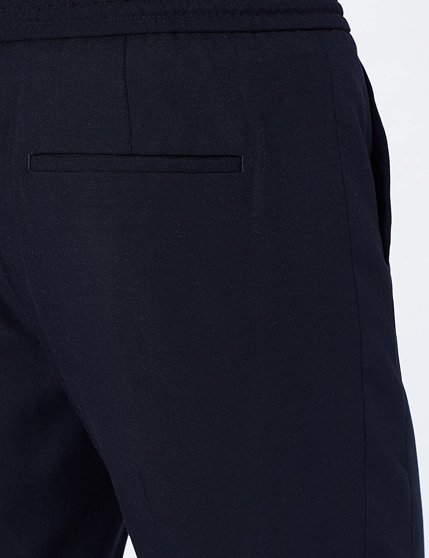 MERAKI Pantaloni Formali con Elastico in Vita Uomo Marchio