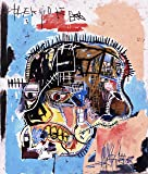 Jean Michel Basquiat Giclee Canvas Print Paintings Poster Reproduction (Head)