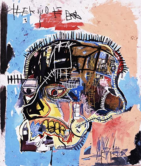 Image result for Basquiat reproduction painting
