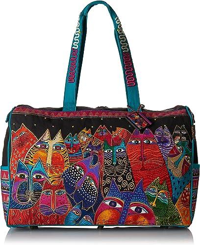 Laurel Burch Travel Bag Zipper Top 21-Inch