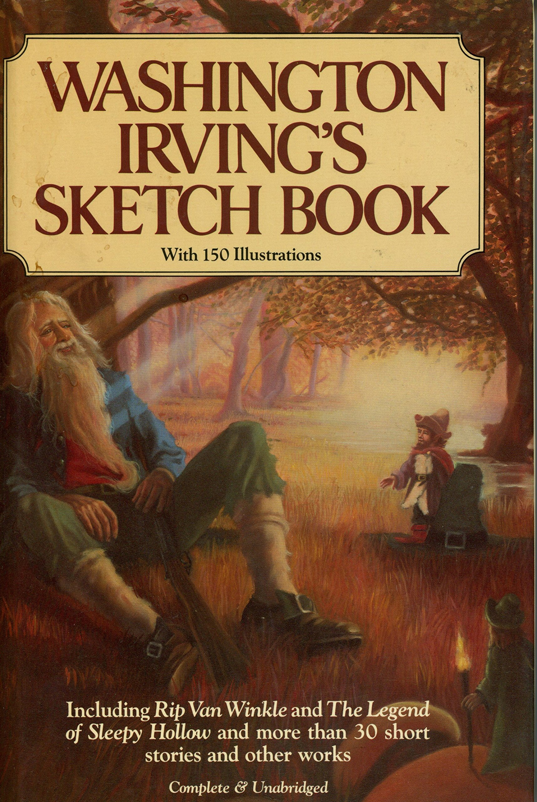 Amazon com washington irvings sketch book 9780517457528 washington irving philip mcfarland books