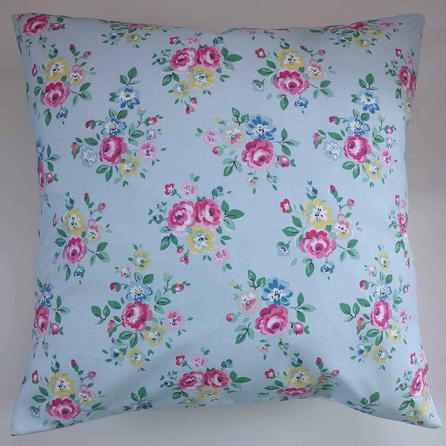 Cushion Cover in Cath Kidston Latimer Rose Blue 14' 16' 18' 20'