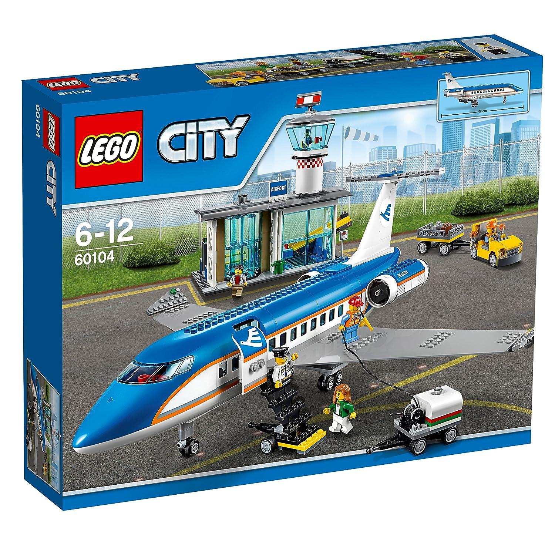 レゴ (LEGO) シティ 空港ターミナルと旅客機 60104   B01AC1AFU6