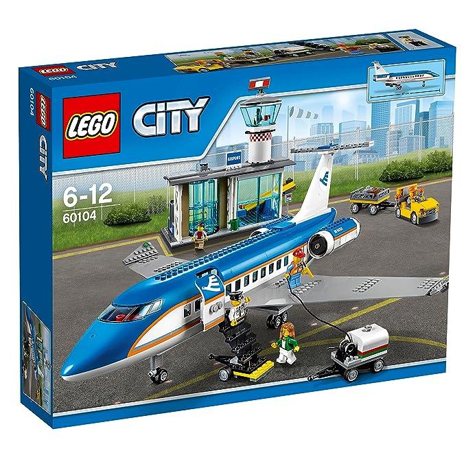 Jeu Le 60104 Lego Construction City Passagers Terminal Pour De I6myf7Yvbg