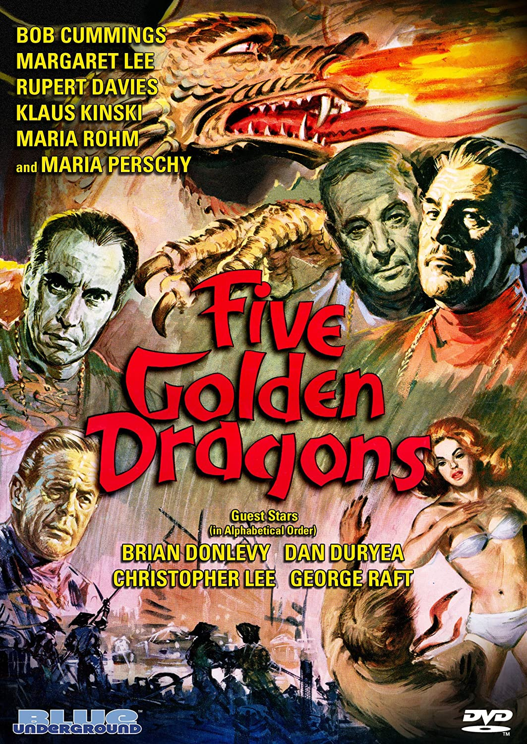 Amazon com: Five Golden Dragons: Margaret Lee, Rupert Davies