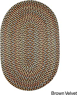product image for Rhody Rug Cozy Cove Indoor/Outdoor Oval Braided Rug (2' x 3') by - 2' x 3' Oval Brown