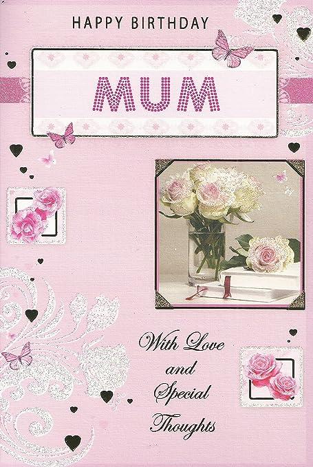 Feliz cumpleaños mamá con amor y pensamientos especiales de ...