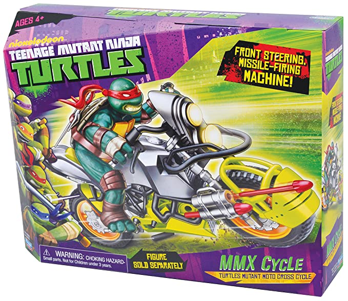 Amazon.com: Teenage Mutant Ninja Turtles MMX Vehículo Ciclo ...