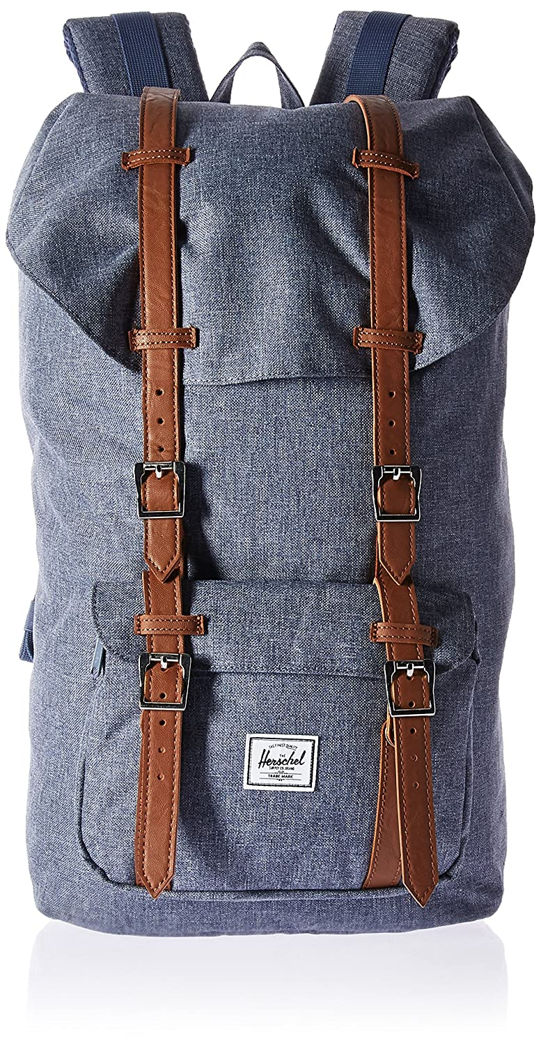 Herschel Little America Mochila casual de sintético Adulto unisex Dark Chambray Crosshatch