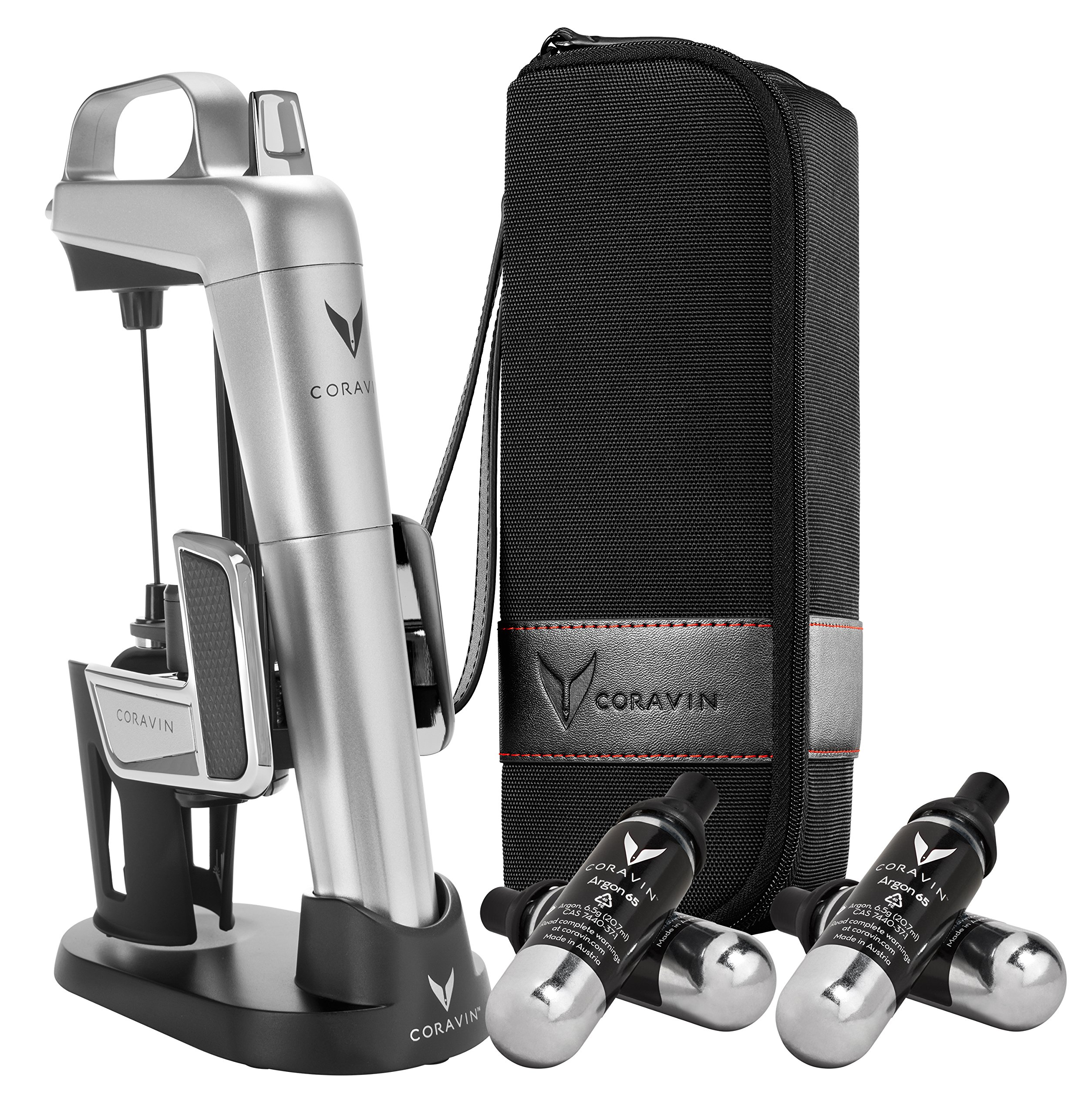 Coravin Model Two Elite Pro Wine Preservation System, Silver by Coravin