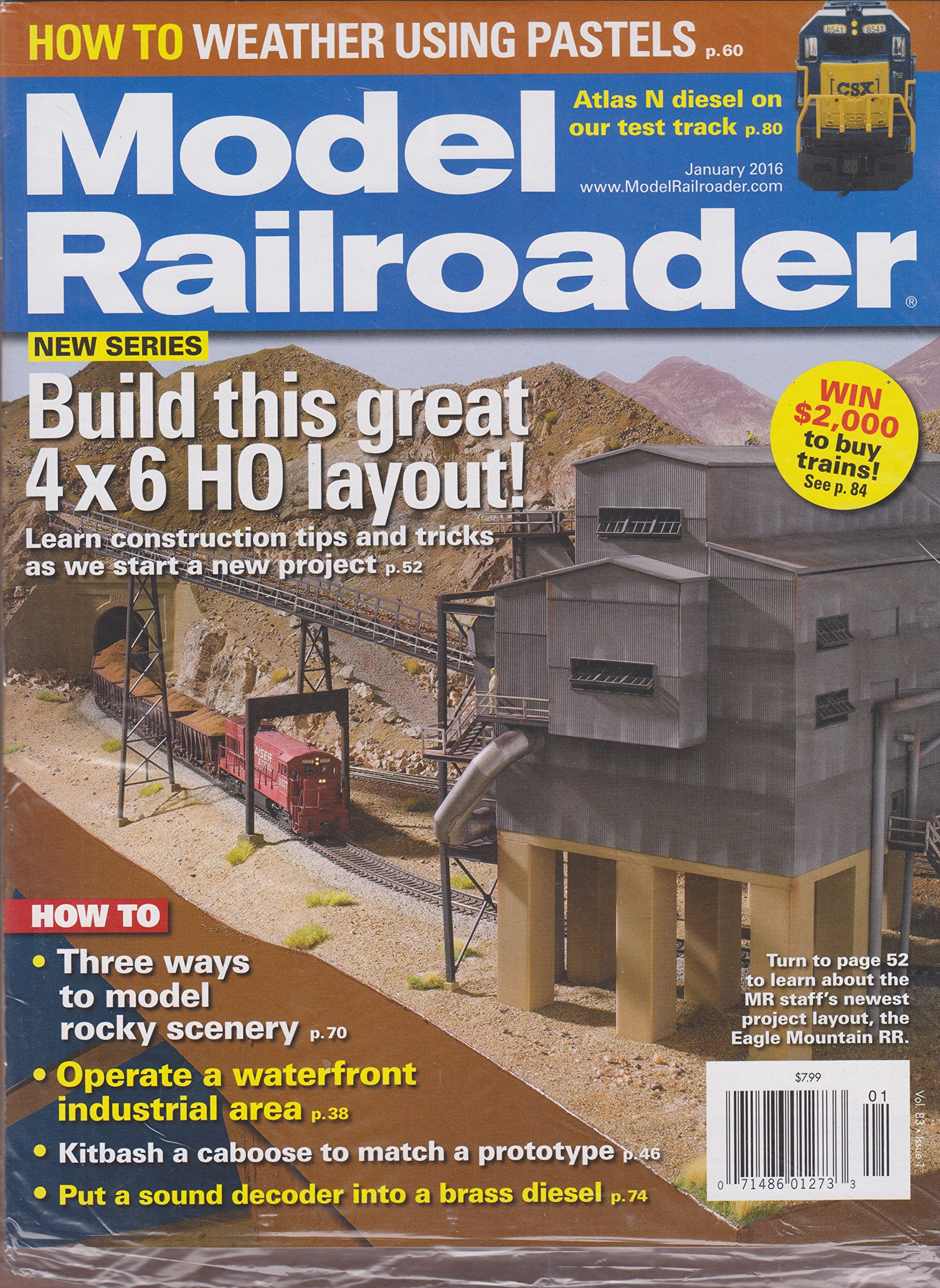 Read Online Model Railroader Magazine January 2016 ebook