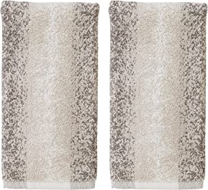 SKL HOME by Saturday Knight Ltd. Vern Yip Antelope Hand Towel Set, Neutral 2 Piece