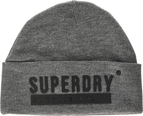 Superdry Surplus Silicone Beanie Bonnet,