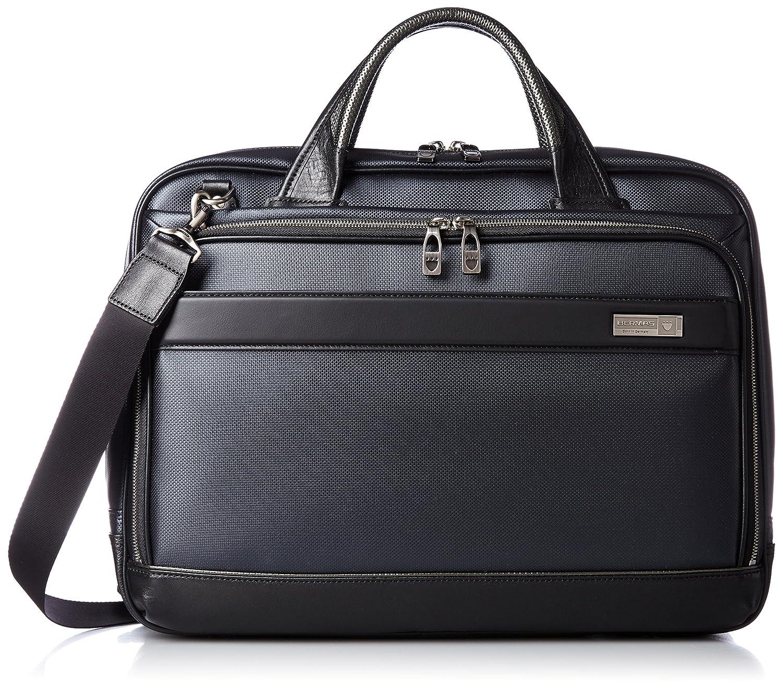 [バーマス] ビジネスバッグ MIJ 日本製 ブリーフ A4収納可能 2WAY 豊岡鞄認定商品 60036-60  ネイビー B01L6QM5GI