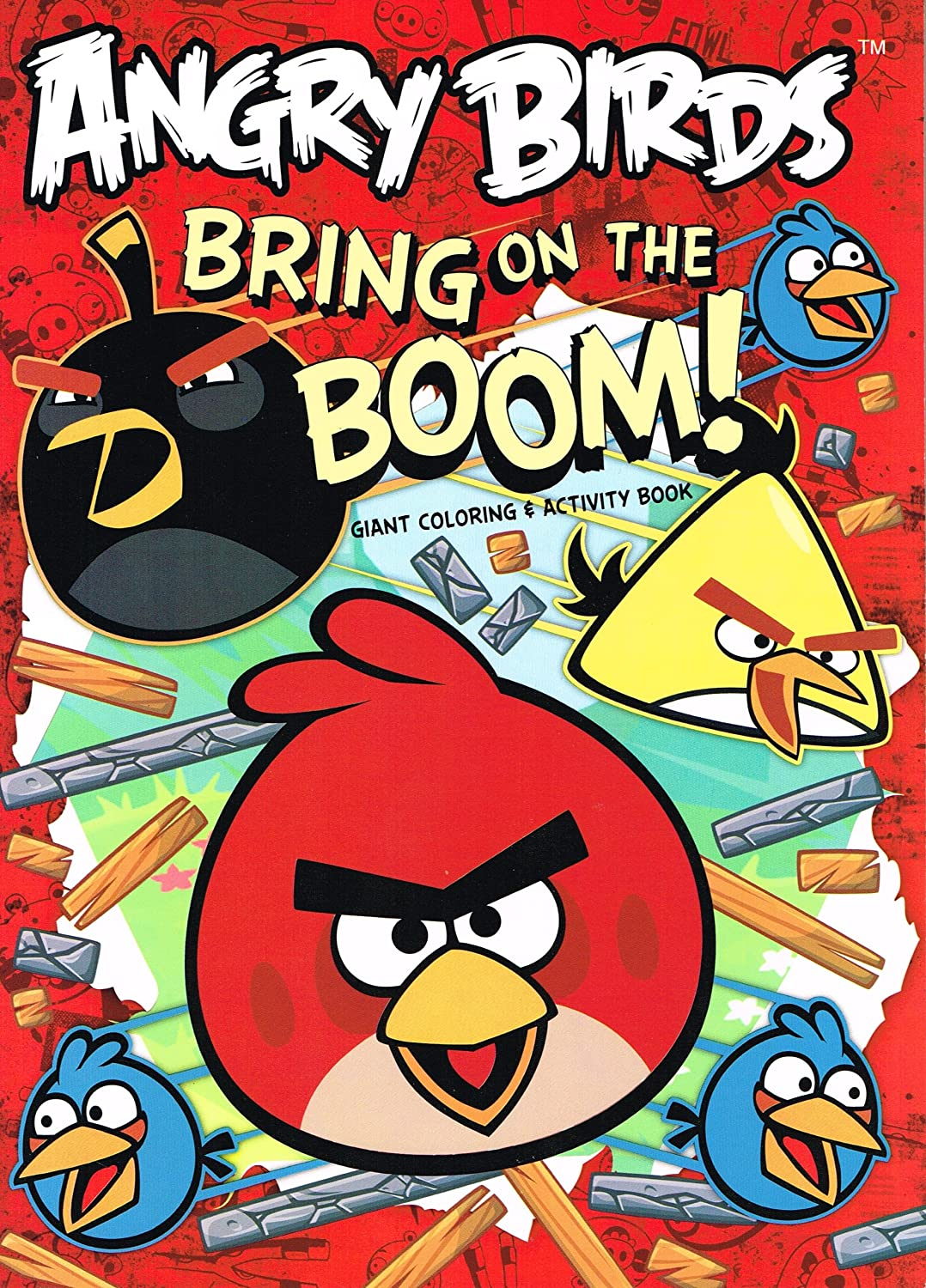 - Amazon.com: Angry Birds Mission Giant Coloring And Activity Book