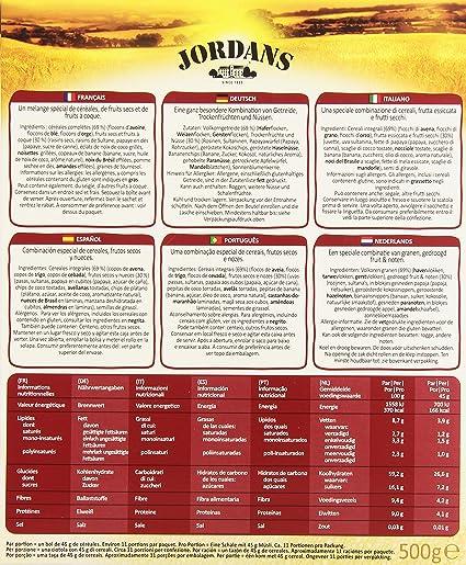 Jordans - Special Muesli - Cereales integrales - 500 g - [pack de 2]: Amazon.es: Alimentación y bebidas