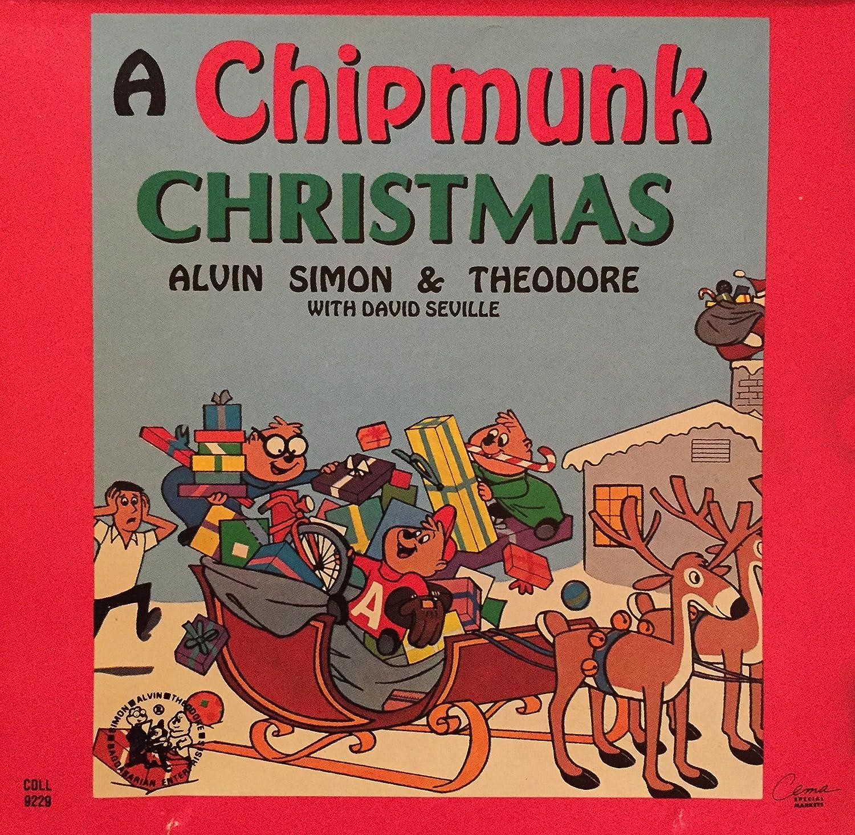 David Seville - 1991 A Chipmunk Christmas CD with Alvin, Simon ...